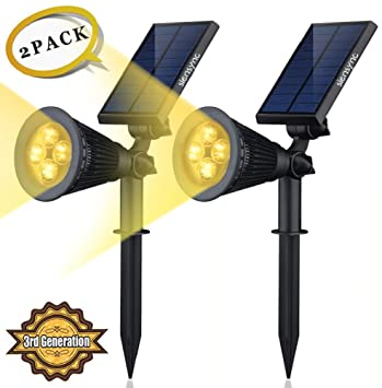 Solar led lights 2 pack 3rd generation siensynctm 2 in 1 solar led lights 2 pack 3rd generation siensynctm aloadofball Image collections