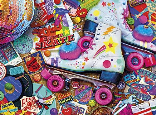 🥇 Buffalo Games – Aimee Stewart – Skate Night – 1000 Piece Jigsaw Puzzle