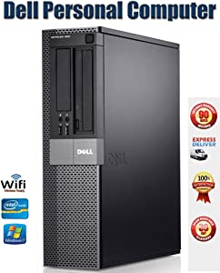 Dell Optiplex 980 Small Form Factor Desktop w/ Intel Core i5 650@3.20GHz, 4GB DDR3 RAM, 250GB HDD and licensed Windows 10 Professional (Renewed)