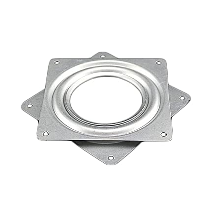Brackets & Clamps Adaptable Square Lazy Susan 360 Degree Rotating Rolling Bearing Turntable 300 Lbs Bearings Plate Brackets