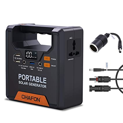 133WH Portable Generator Power Supply Home Emergency Power Station CPAP  Battery Backup Pack with 110V/ 100W AC inverter Outlet for Outdoor Camping