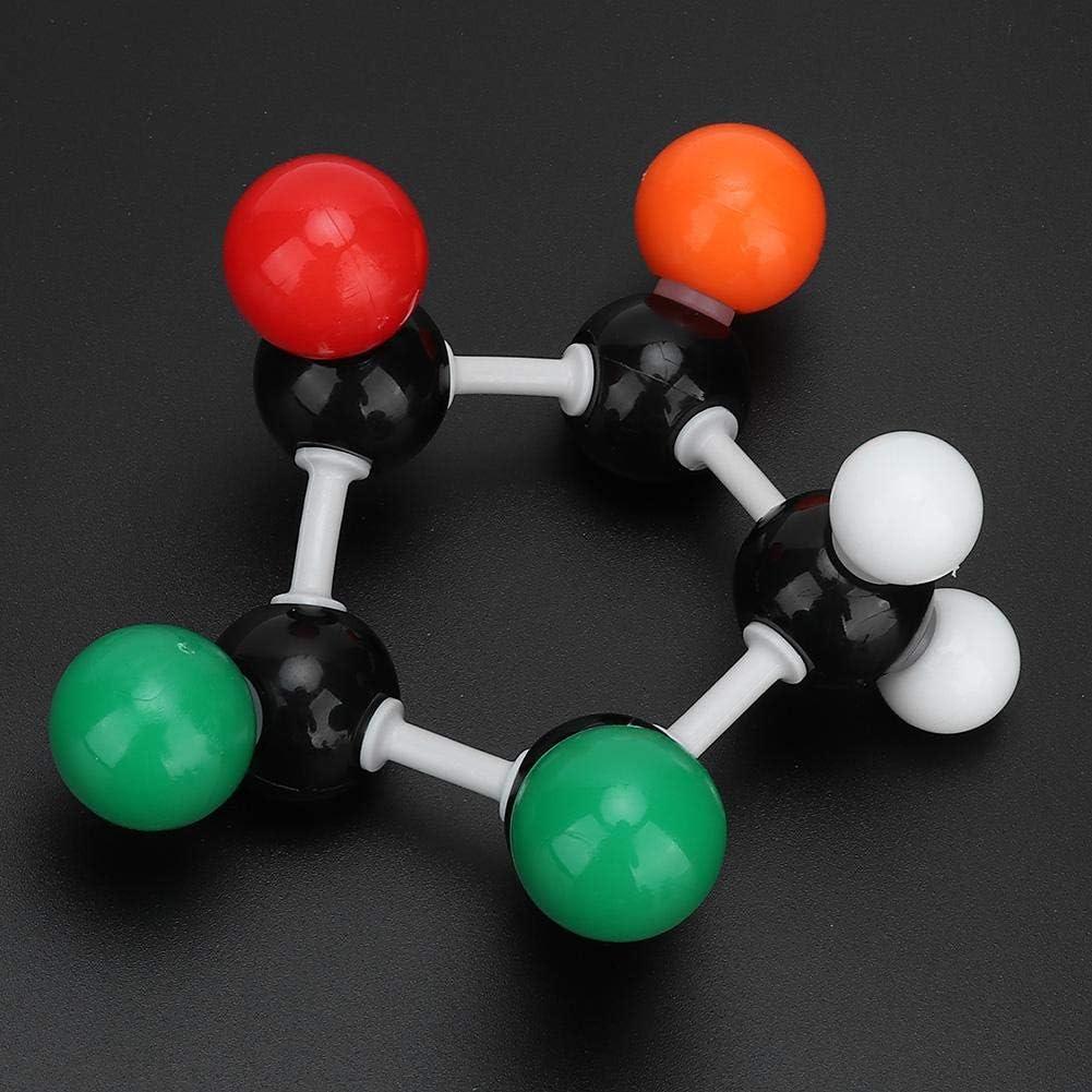 240Pcs Bonding Molecular Orbital Kit Molecular Model Set Organic Inorganic Biochemistry Model for Student Teachers Young Scientists