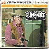 Gunsmoke 3d View-Master 3 Reel Packet