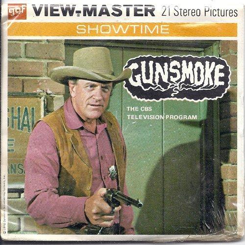 Gunsmoke 3d View-Master 3 Reel Packet by View Master (Image #1)