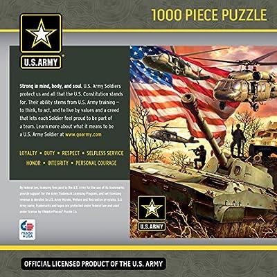 US Army - Army Firepower - 1000 Piece Jigsaw Puzzle: Kitchen & Dining