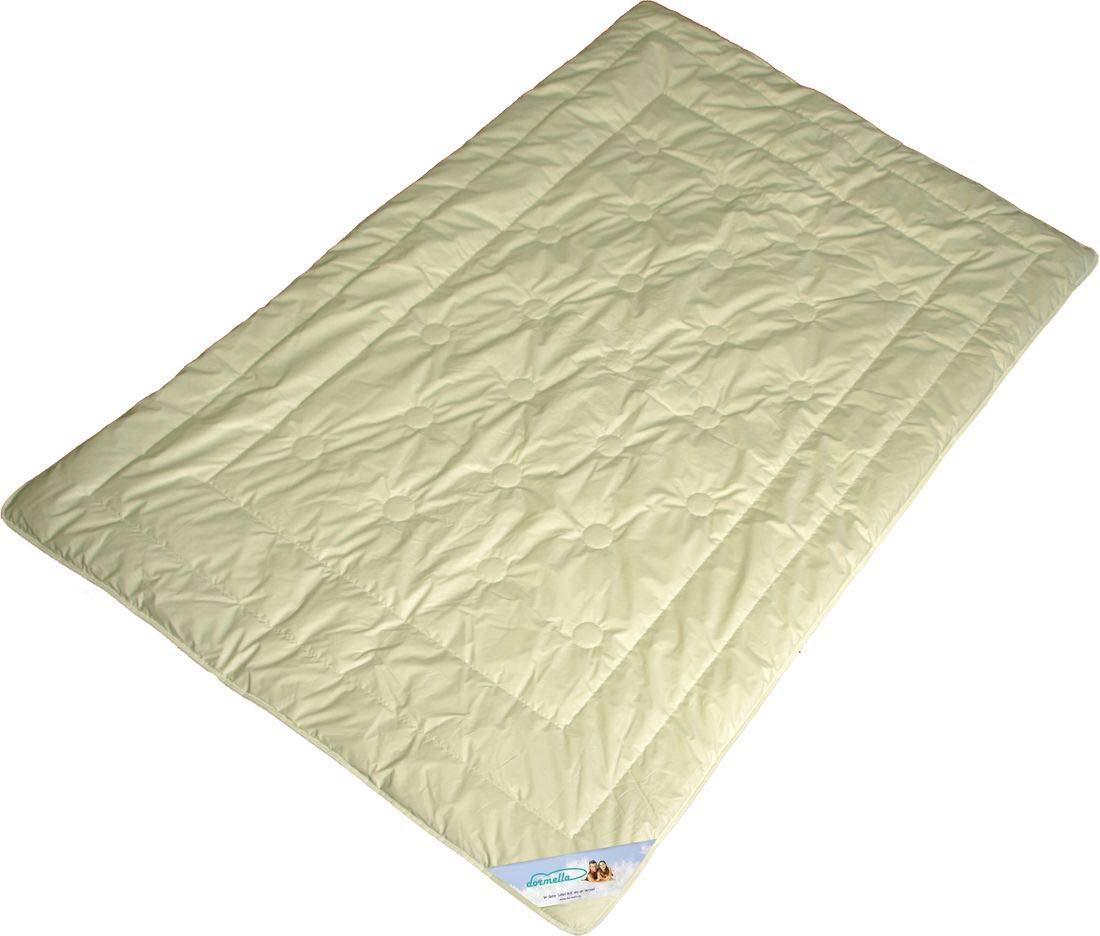 Bettdecke Modicana - Warme Winter Duo Decke mit 100% Kamelhaar Füllung und Bio Cotton KBA Bezug, Größe 135x200