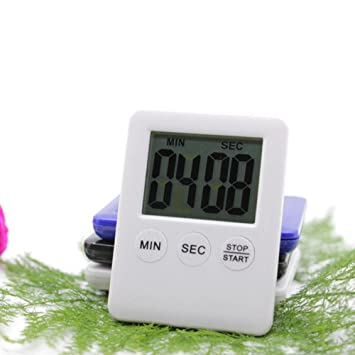 hoshell Digital temporizador de cocina reloj temporizador de ...