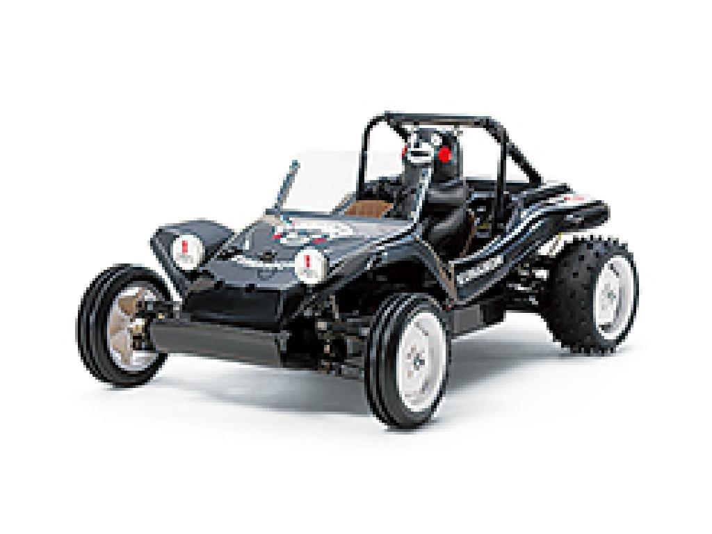 タミヤ 1/10 XBシリーズ RCバギー くまモンバージョン (DT-02シャーシ) ブラック 2.4GHz プロポ付き塗装済み完成品 57885 B00ZTB2P5I