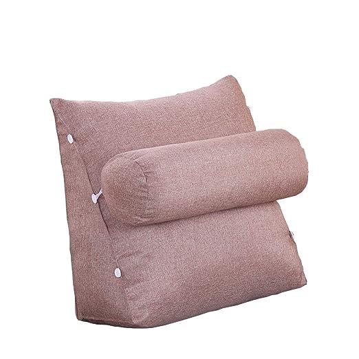 Color Sólido Almohada de lectura del resto de la cama ...