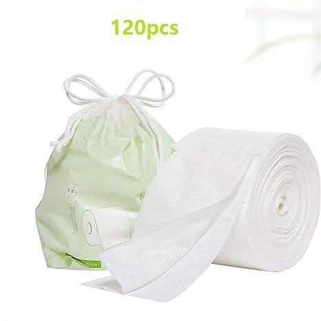 Limpieza de algodón Almohadillas de algodón libres orgánicos grandes naturales de la pelusa del cojín de