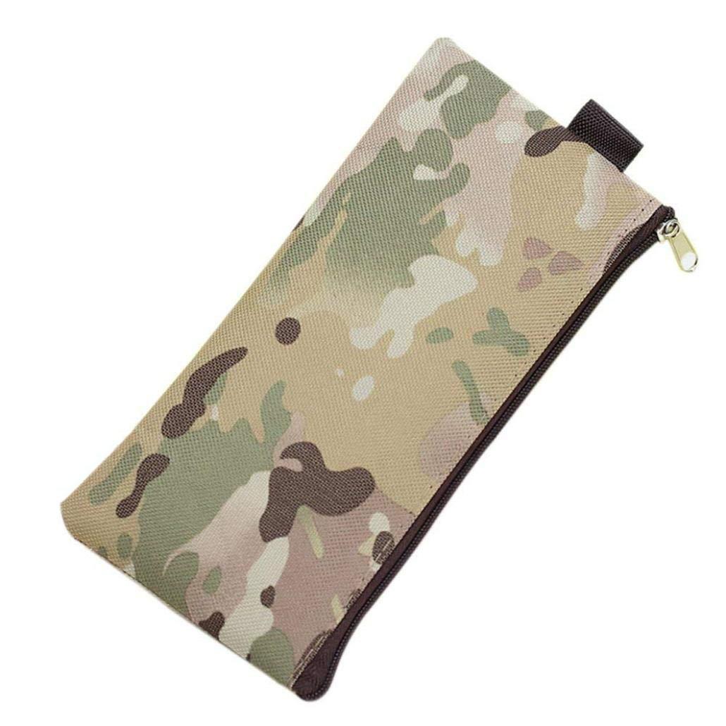 Prevently Pencil Case New Creative Boys Girls Camouflage School Supplies Pouch Purse Pencil Case Mini Bag Trendy