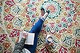 Cheap Mohawk Home Strata Jerada Floral Sphere Printed Area Rug, 5'x8′, Multicolor