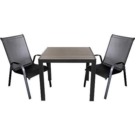 3 piezas. Mobiliario de jardín - polywood/Non Wood Jardín ...