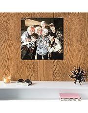 BTS MDF Wall Art 30x30 Centimeter HOOLIGANZZ