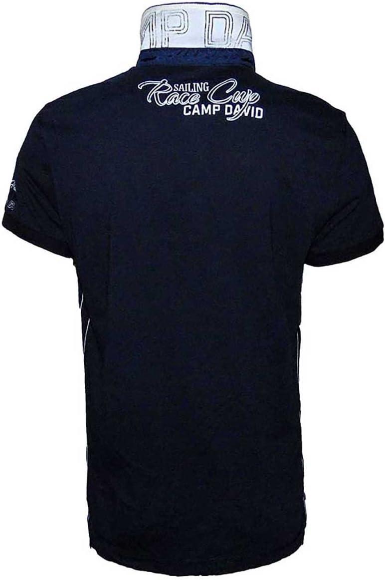 Campamento David Chicago vela Copa Polo II 1/2 hombres camiseta ...