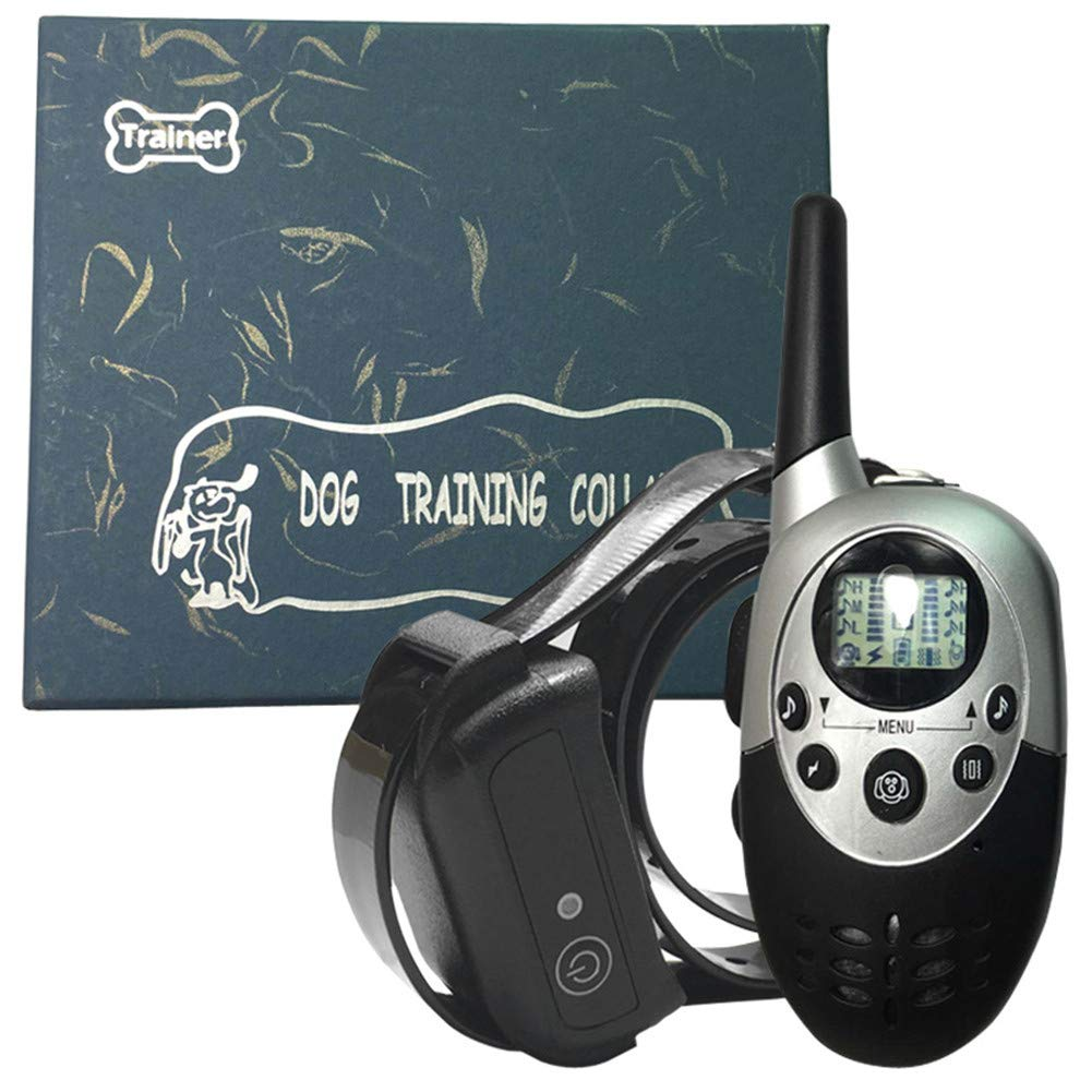 Rechargeable Dog Training Collar Remote 1000 Meters Stop Dog Barking Collar
