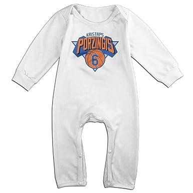 Amazon.com: duola del bebé # 6 Kristaps porzingiz baloncesto ...