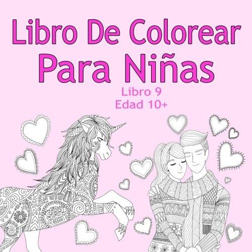 Libro De Colorear Para Niñas Libro 9 Edad 10 Imágenes