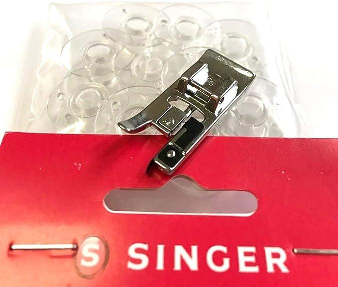 Original Singer Nähmaschinen bobinas + Overlock Nähfuß para Singer ...