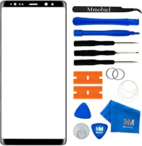 MMOBIEL Front Glass Repair kit Replacement Compatible with Samsung Galaxy Note 8 N950 (Black) 6.3Inch Display incl Tools
