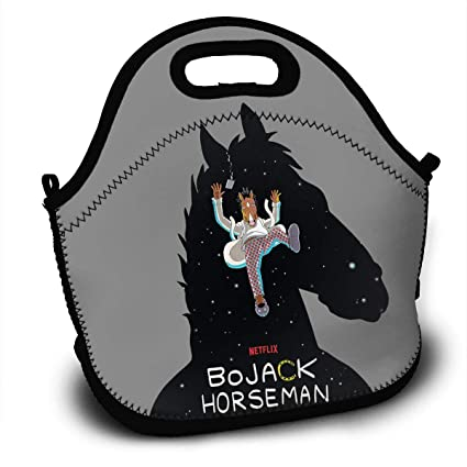 bfef15de58d0 Amazon.com - Sunmoonet Lunch Tote Bag BoJack-Horseman Bento Lunch ...