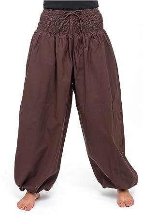 FANTAZIA Pantalon Elastique Smoog Bouffant Femme - Taille Unique ... 6f4b29fe405