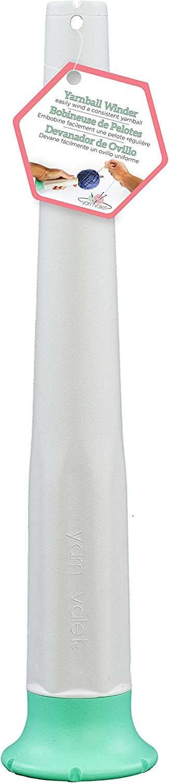 Yarn Valet 57104 Yarn Ball Winder Green /& White