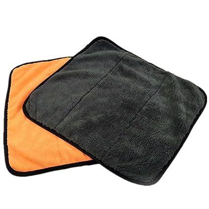HUPLUE - Toalla de Microfibra Multiusos para Limpiar el Coche y Lavar, Alta Absorción,