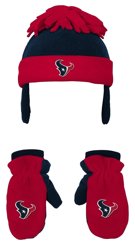 987d297e3ec9d Amazon.com   NFL Toddler 2 Piece Winter Set Fleece Hat and Mittens  -Cardinal-1 Size