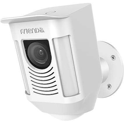Frienda Silicone Cover Skin for Ring Spotlight Battery Cam Security Camera, Sun Glare, UV