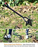 Ymachray 5-Tine Forged Digging Fork- Long Handled