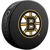 Boston Bruins Basic Collectors NHL Hockey Game Puck
