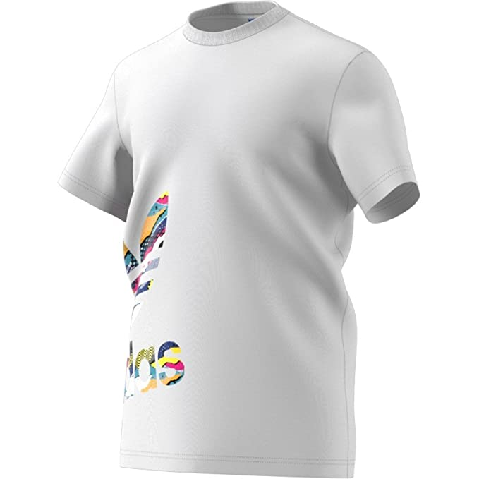 2d418b35f0436 adidas Originals Camiseta - Para Hombre Blanco Blanco Large  Amazon.es   Ropa y accesorios