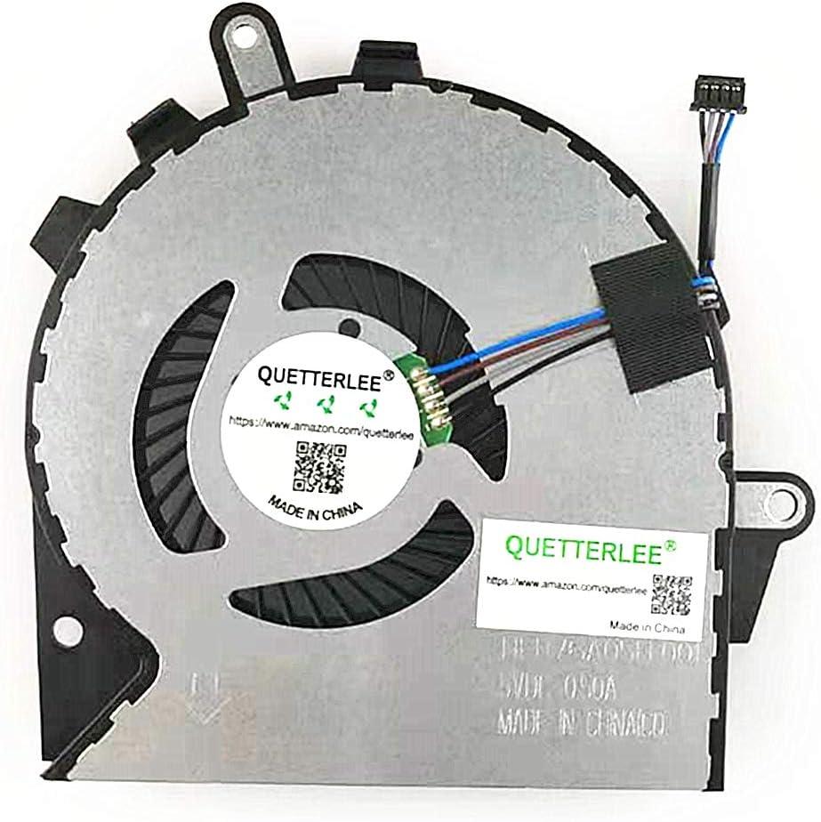 QUETTERLEE Replacement New GPU Cooling Fan for HP OMEN 15-CE 15-CE000 15-CE010CA 15-CE020CA 15-CE030CA 15-CE033TX 15-CE051NR 15-CE006TX 15-CE007TX 008TX Series FAN G3A-GPU NFB76A05H-001 929456-001 FAN