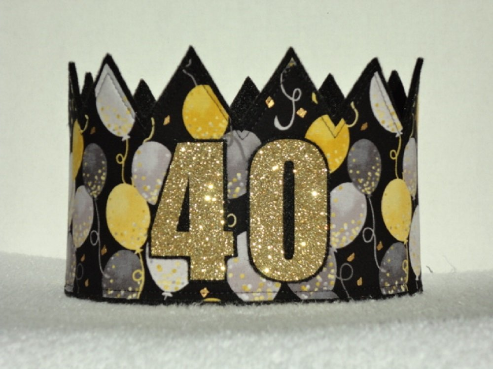 Adult 40TH Bithday Crown