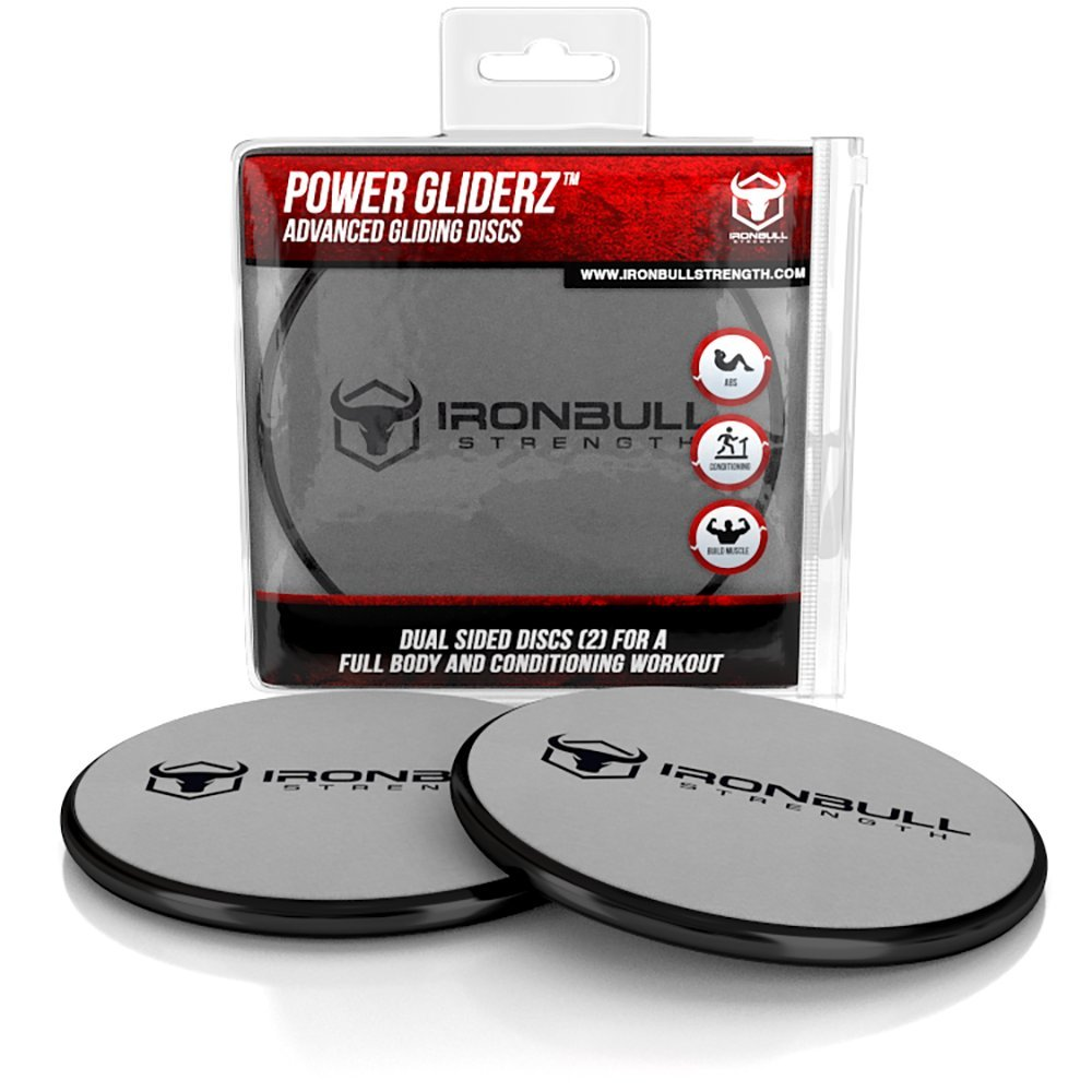 Gliding Discs 1 Pair Core Sliders Full Body Workout
