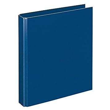 Herlitz Ringbuch DIN A5 mit 4-Ringe blau Farbe