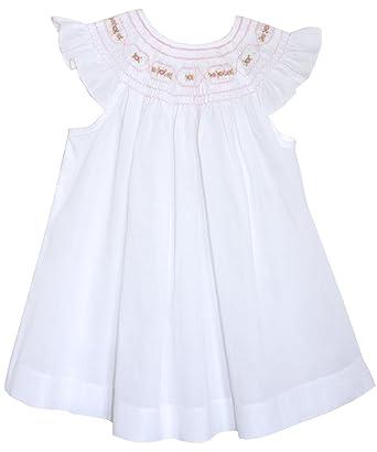 White Smocked Dress