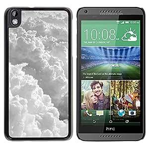 """Pulsar Snap-on Series Teléfono Carcasa Funda Case Caso para HTC DESIRE 816 , Cielo imponente dios sol nubes volando"""""""
