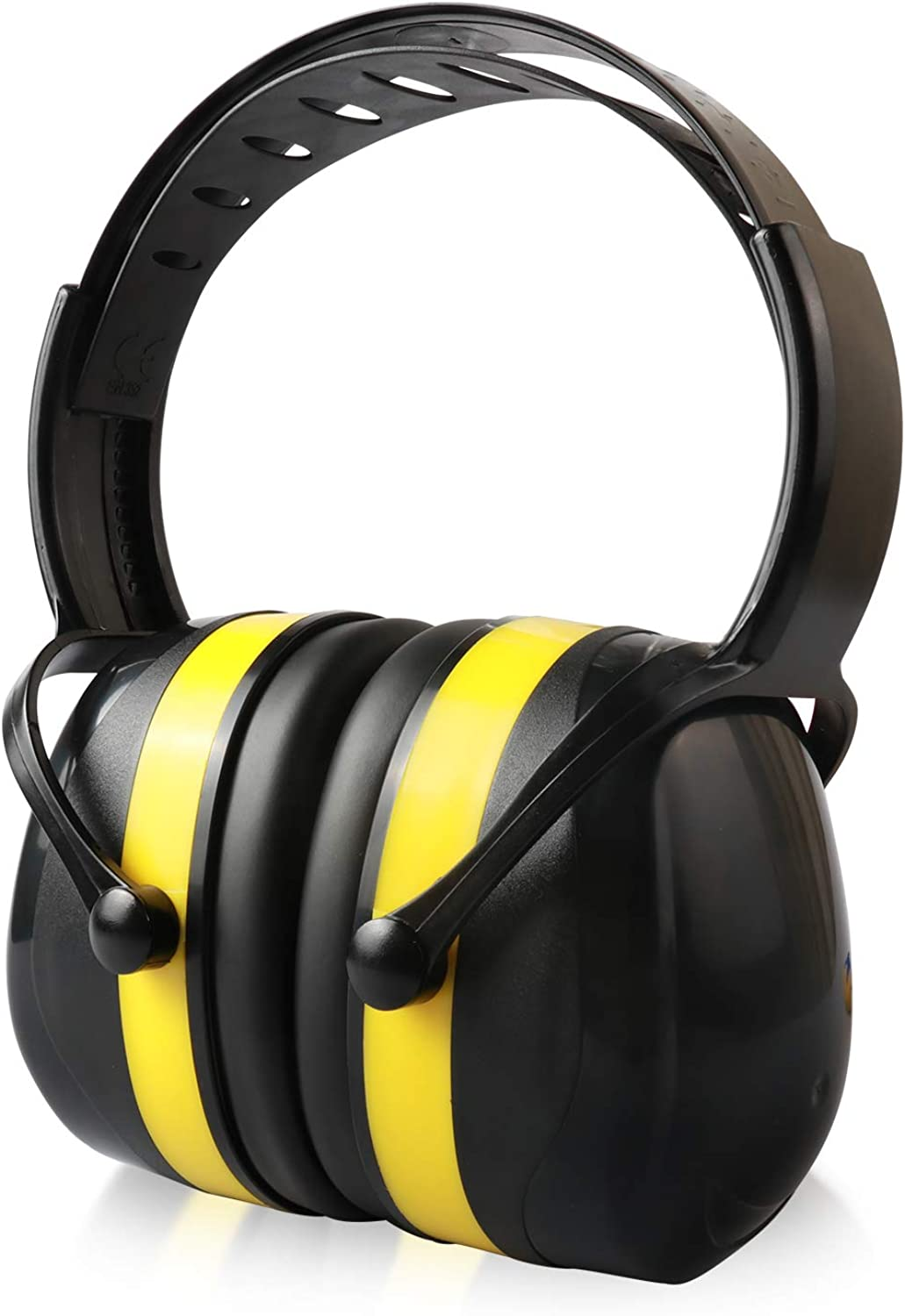 Enegitech Noise Cancelling Ear Muffs 34dB Highest NRR Noise Reduction Safety Earmuffs Hearing Protection with 2 Pairs of Earplugs for Shooting Garden Trimming Landscaping Gifts for Women Men Girls