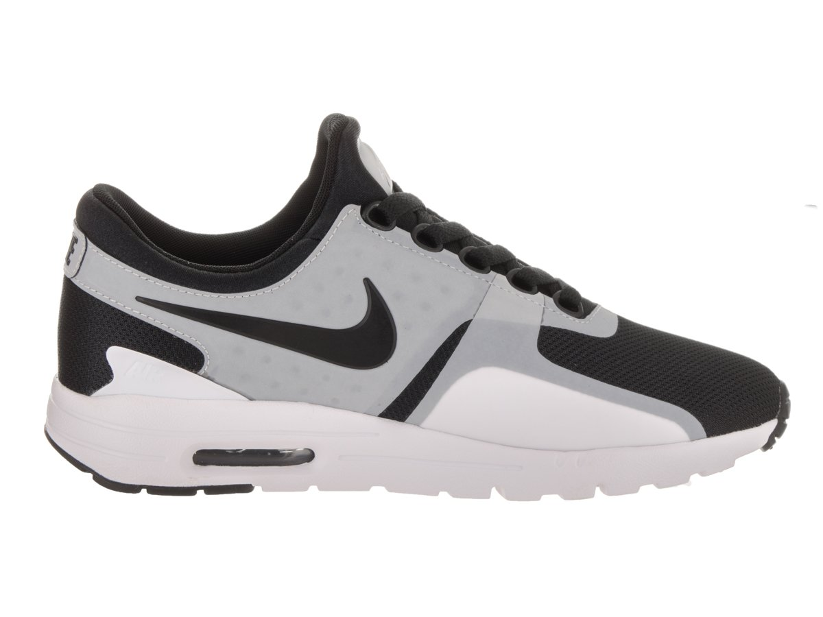 Nike Women's Air Max Zero White/Black Running Shoe 10 Women US