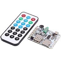 Garosa Tablero Amplificador Bluetooth DC 5V Receptor de Audio de Pequeña Potencia Compatible con decodificador USB TF FM…