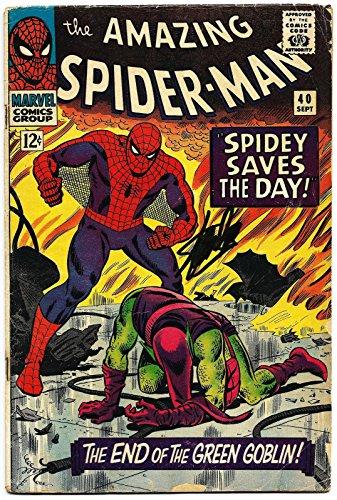 Stan Lee Hand Signed Spiderman #40 Comic Book Graded Gem Mint 10! V07897 - PSA/DNA Certified