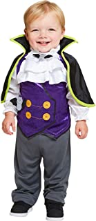 Toddler Boy Halloween Dinky Dracula V&ire Fancy Dress Costume 12-18 Months  sc 1 st  Amazon UK & Baby Toddler Boys Count Dracula Vampire Halloween Fancy Dress ...