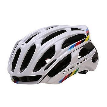 Queshark casco de ciclismo de carretera en la montaña en el molde ...