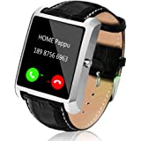 Smart Watch for Android Phones, Men Smart Watches for iPhones 1.54 inch Touchscreen Cell Phone