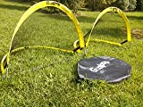 GOALPOP 4FT Set of Two Pop Up Goals for Soccer Training – Portable Soccer Goals Net & Carry Bag. Fold-able, Perfect for Kids, and Easy to Carry. Great Gift, Ideal for Backyard, Beach Playing or Training. Weighing Just a Couple of Pounds. For Sale