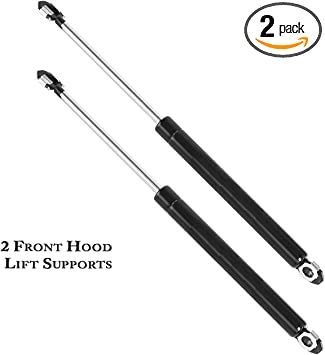 Front Hood Lift Support Pair LH Driver /& RH Passenger Sides for Toyota Avalon