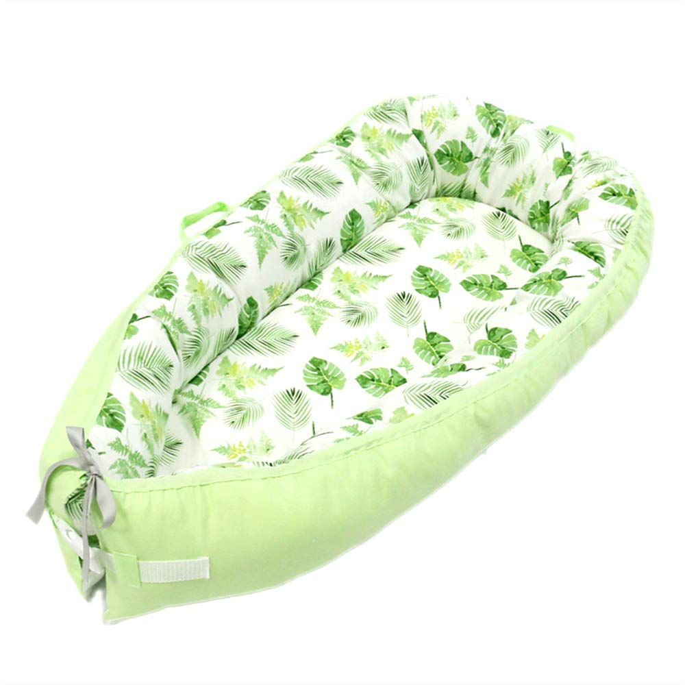 -Breathable /& Hypoallergenic Portable Crib,Style1 Baby Lounger and Baby Nest Sharing Co Sleeping Baby Bassinet 100/% Soft Cotton Cosleeping Baby Bed Premium Quality and Bigger Size 0-18months