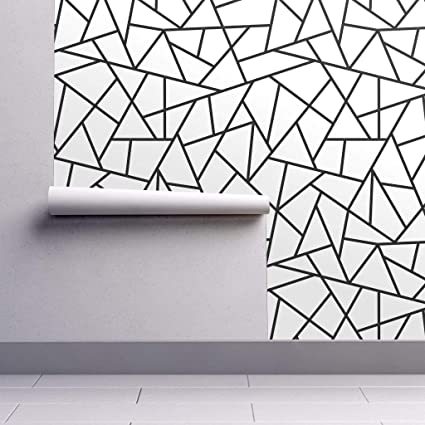 Peel And Stick Removable Wallpaper Abstract Geometric